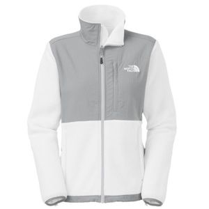 North Face Denali jacket white/cream gray M